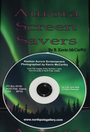 Aurora ScreenSaver CD - 700+ Northern Lights Images